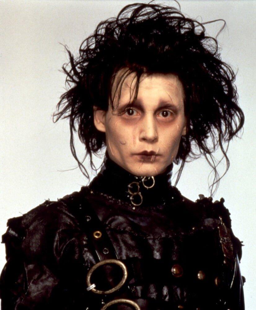 If Lydia Deetz Or The Addams Ladies Are Flawless Representations Of Goth Fashion In Female Cinema Than Tim Burtons Character Edward Scissorhands Is